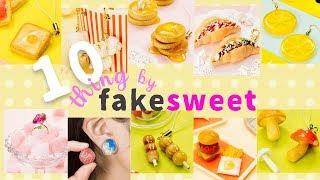 Fun DIY!10 Things by Fake Sweets 食べたくなるフェイクスイーツDIY10選 Vol.3