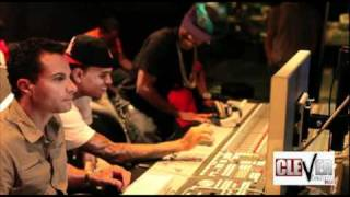 Chris brown in studio with Big Sean