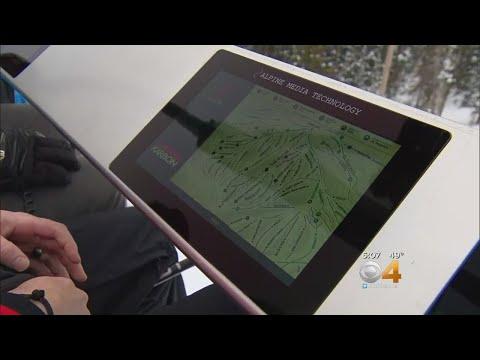 Ski Resort Hopeful New Digital Screens Help Skiers & Snowboarders