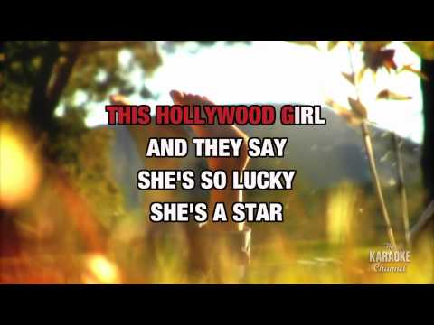 """Lucky in the Style of """"Britney Spears"""" with lyrics (no lead vocal)"""
