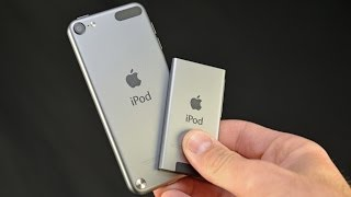 Apple iPod Touch & Nano (Space Gray): Unboxing & Comparison