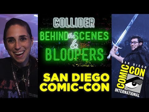 Collider at San Diego Comic-Con - Behind the Scenes & Bloopers