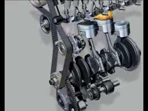 Correia Dentada Motor 16v Youtube