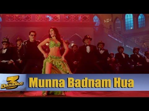 Munna Badnaam Hua Song Making   Dabangg 3 Song   Salman Khan    Warina Hussain Mp3