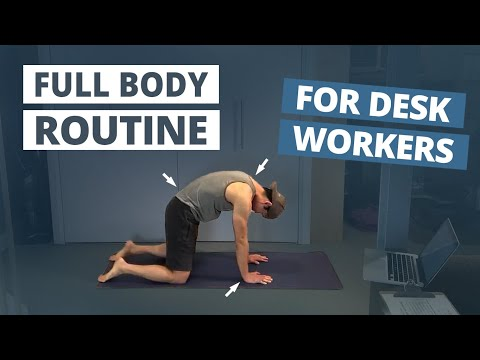 A 15-Minute Routine to Combat the results of Sitting in a Office Chair