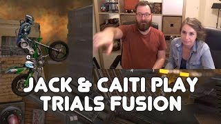 Jack Plays Trials Fusion with Caiti!