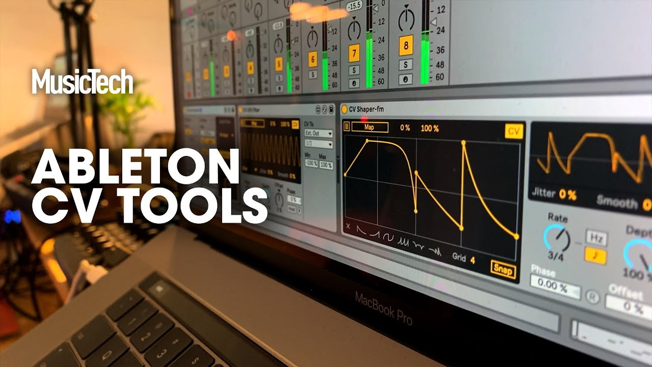 Superbooth 2019: Ableton's CV Tools beta gives you external synth