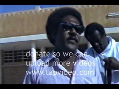 Rare footage of Dr Ben in Sudan