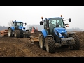 New Holland T5.115/T6.175/T7.250/T7050 | Fiat Kobelco | Ground leveling