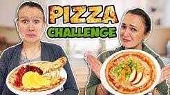 PIZZA CHALLENGE mit merkwürdigen Zutaten   Kathi vs. Bianca Wer hat verrückteste Essenskombination?
