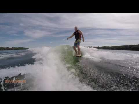 Eric Grindland - Wakesurf - 3 Trick Combo - Glory Days Skim
