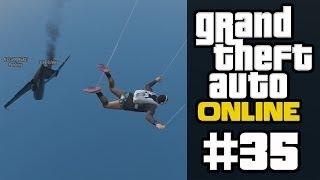 GTA ONLINE #35 - Selbstmord-Challenge Teil 1 (mit Pan, Curry & 616) [HD+] | Let
