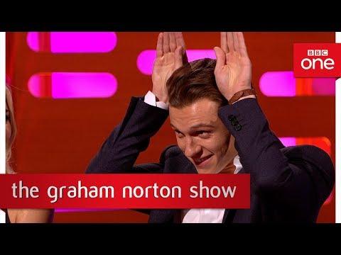 Tom Holland's strange audition for Andy Serkis  The Graham Norton : 2017  BBC One