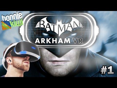 I'M BATMANNNN!! | Batman Arkham VR #1 |