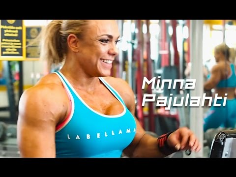 Minna Pajulahti IFBB Pro - Interview & Gym Workout