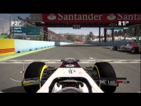 F1 2012 / Suisse F1 Racing / Startphase