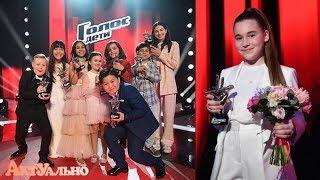 Стали известны ИТОГИ ПОВТОРНОГО ФИНАЛА шоу «Голос. Дети»: Микелла Абрамова осталась победителем!