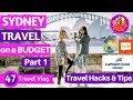 Sydney Travel On a Budget 🇦🇺🦘 | PurplePinkTV