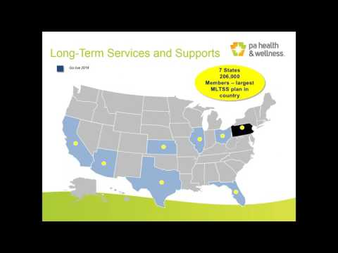 Pennsylvania Health And Wellness Introduction And Contracting Orientation