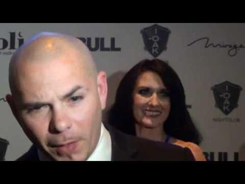 Pitbull celebrates his birthday at 1OAK Mirage Casino Vegas 2012