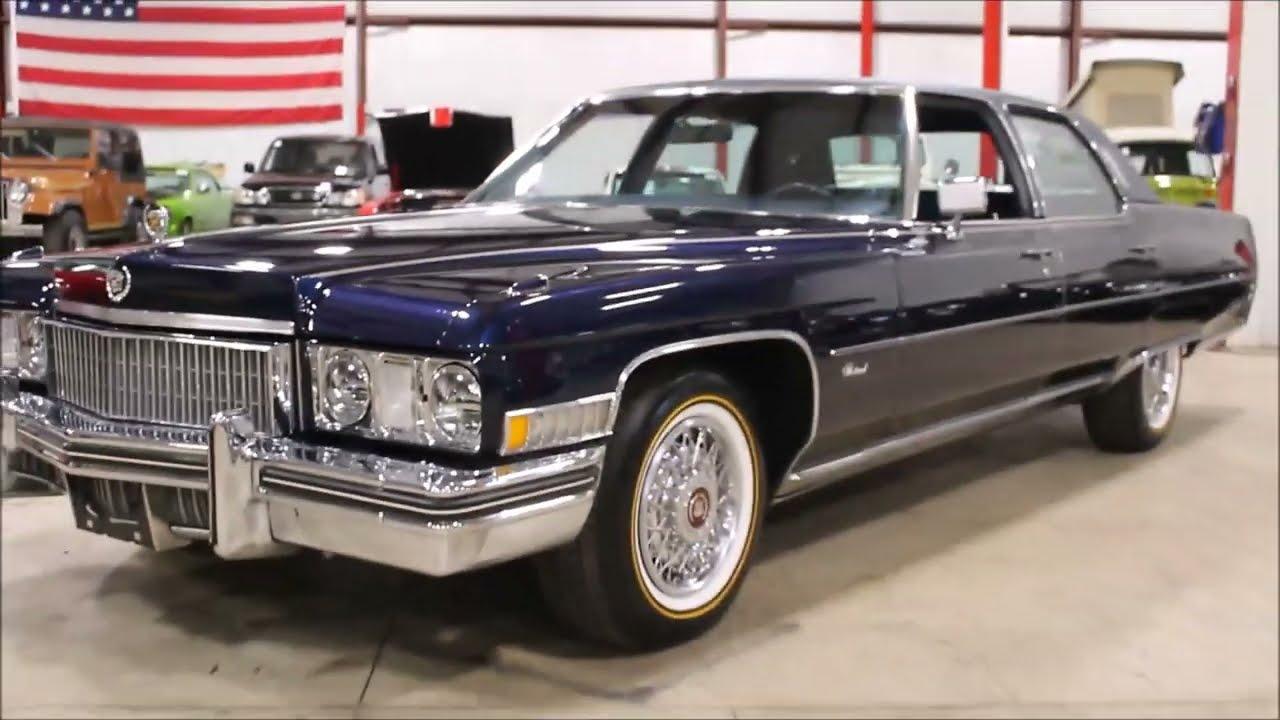 1973 Cadillac Fleetwood - YouTube