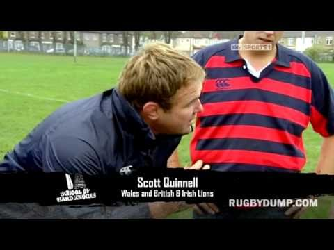 Rugby inspiration - Scott Quinnell and Will Greenwood