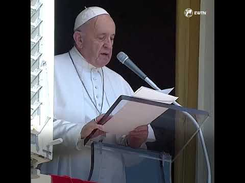 Pope Francis speaks about the Assumption of Mary