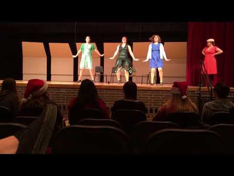 42nd Street Go Into Your Dance Scene Skit Davison High School Varsity Choir November 2017
