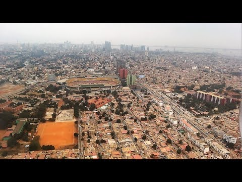 Arriving in Luanda, Angola