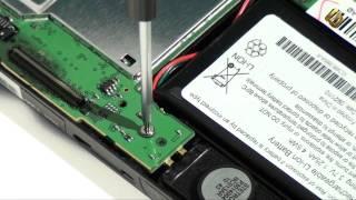 garmin Nuvi 1300 - как разобрать GPS навигатор и из чего состоит