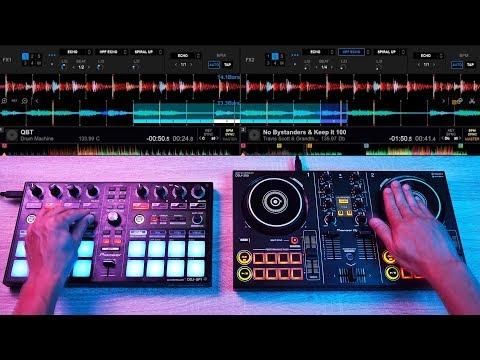 PRO DJ DESTROYS $150 CONTROLLER IN SICK EDM MIX - Fast and Creative DJ Mixing Ideas