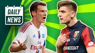 Breitenreiter vor dem Aus? Salcedo verlässt die SGE! HSV: Marcell Jansen übernimmt! Piatek zu Milan?
