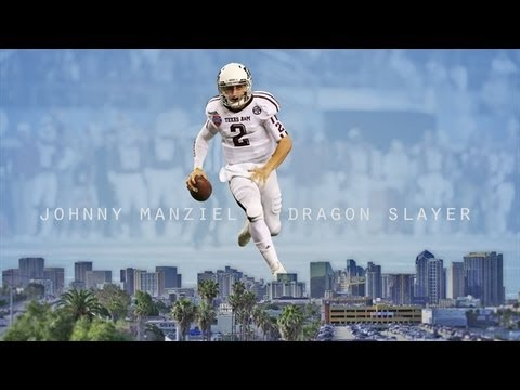Johnny Manziel, The Dragon Slayer (Documentary)