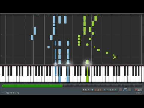 Sword Art Online 2 (ソードアート・オンライン II) Op 1 - Ignite [Full] [Piano Synthesia +Sheet]