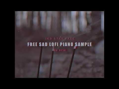 Free Sad Lofi Piano Sample #3 - YouTube
