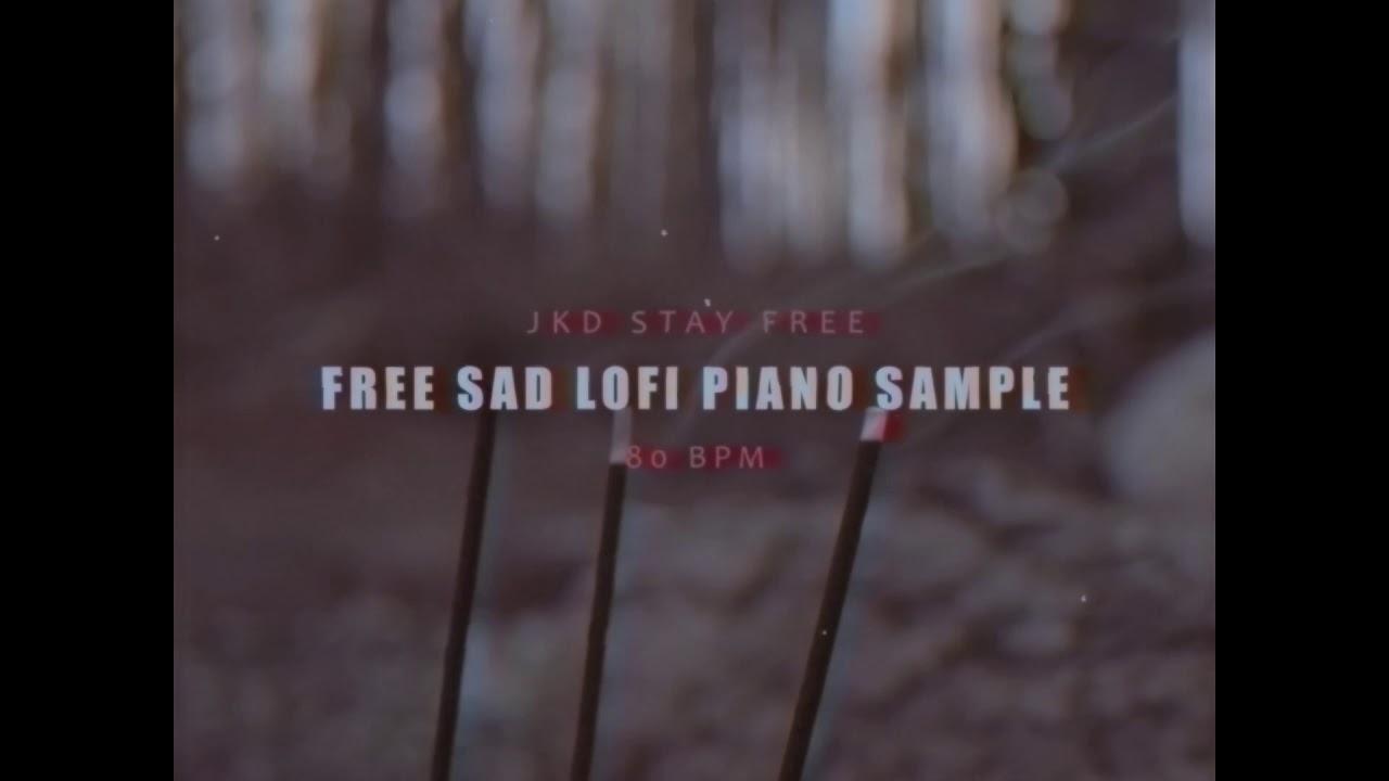 Free Sad Lofi Piano Sample #3