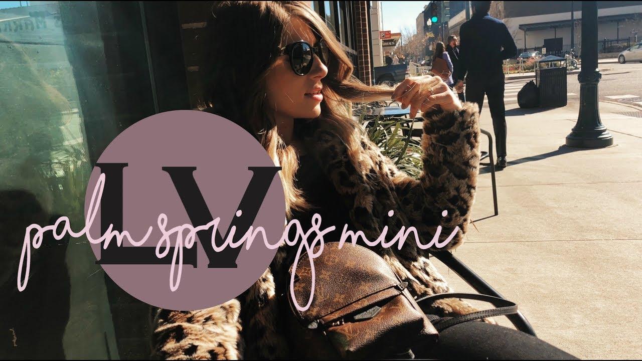 3c82bdb06ded LOUIS VUITTON PALM SPRINGS MINI ♥ Ultimate Luxury Backpack