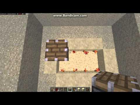 Tisch mit Redstone schaltung