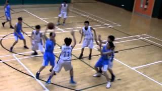 20150325 屯門學界籃球賽 C grade 初賽 ~ 呂明才 vs 唐賓南