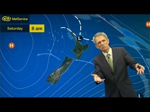 Dan Corbett's final forecast for Met Service New Zealand 9th May 2014