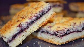 Песочное венское печенье с вареньем