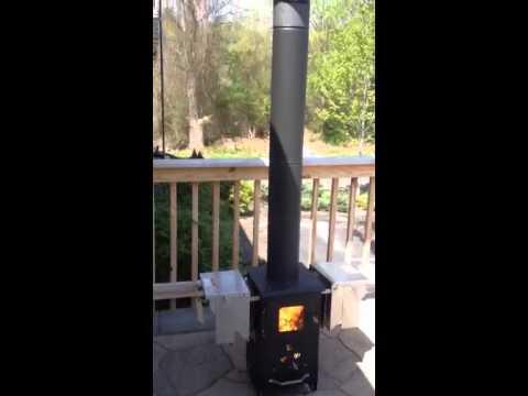Wood Pellet Patio Heater