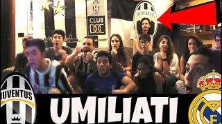 UMILIATI!!! JUVE REAL MADRID 1-4 | REAZIONE JUVENTINI FINALE CHAMPIONS