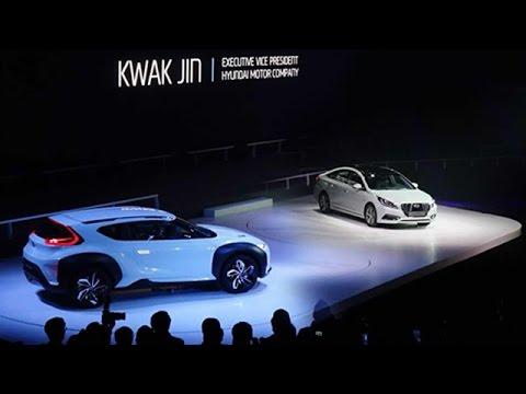 Hyundai Enduro Concept Suv At Seoul Motor Show 2015 Youtube