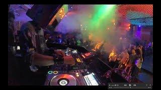 Световое шоу - диджей шоу (DJ шоу) в клубе Амстердам (диджей Москва)