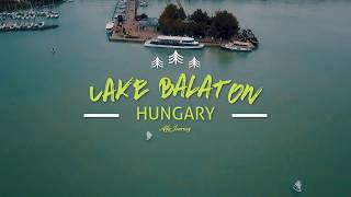 Travel Vlog #1 Danau Balaton, Hongaria | Eropa