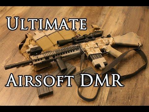 My SR25 Airsoft DMR!