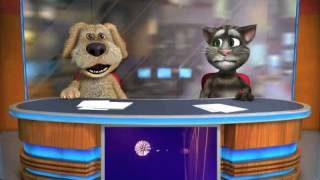 Talking Tom and Ben News Gangnam Style