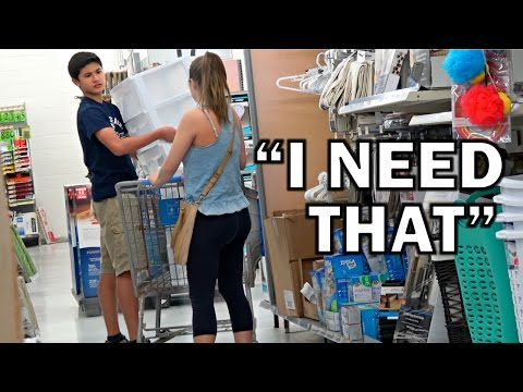 Shopping Out Of People's Carts PRANK