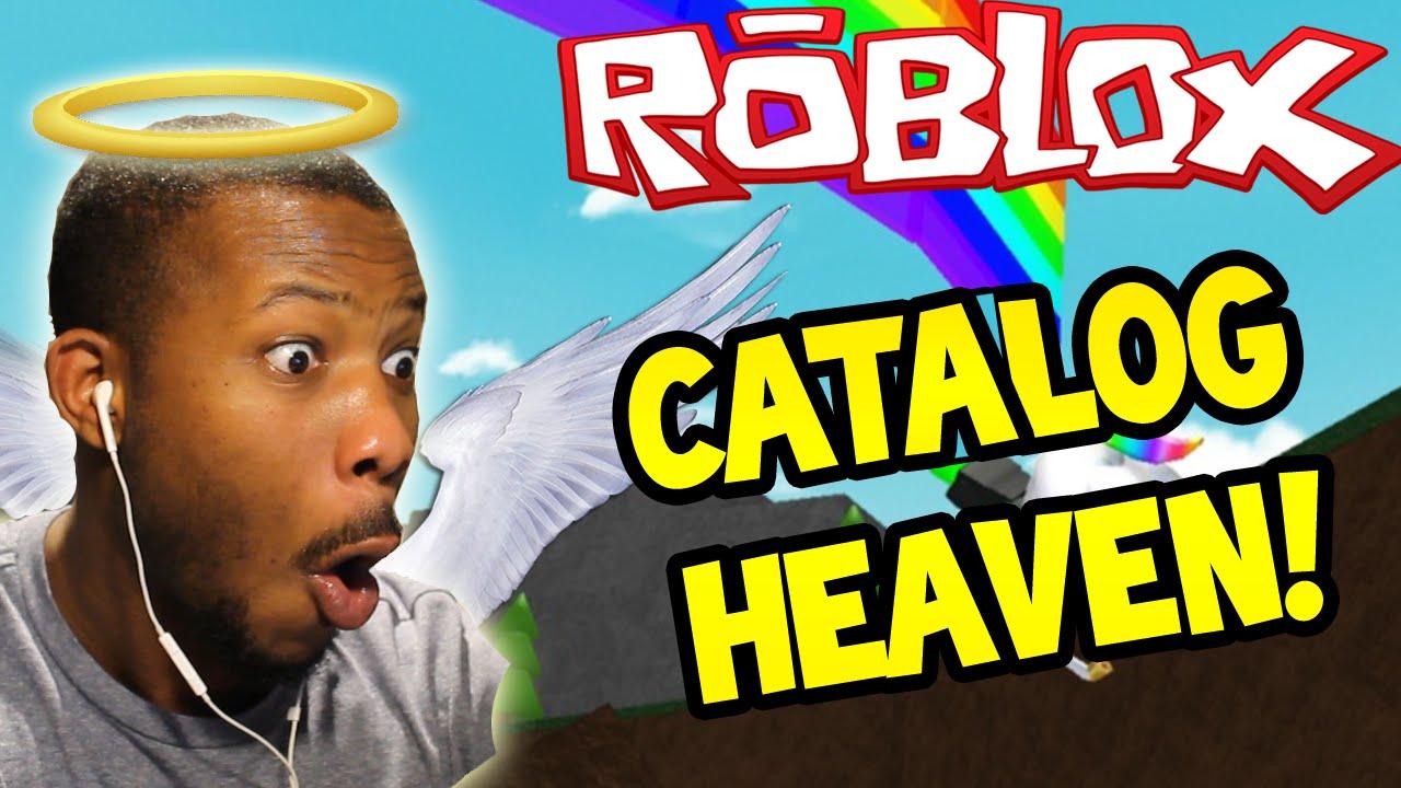 Roblox Catalog Heaven Rainbow Unicorn Part 1 Youtube